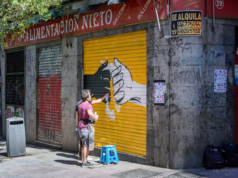 How to purchase street art in Madrid at an affordable price?